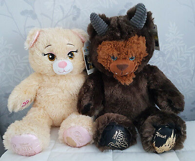 Build A Bear Beauty And The Beast Plush Belle And Beast Bears Brand New With Tag