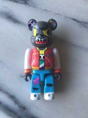 100% Be@rbrick Tokidoki Wolf, Medicom, New, Unboxed, Bearbrick