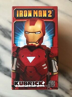 100% Kubrick BLINDBOX Iron Man 2, Medicom, New, Unboxed, Bearbrick