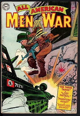 All American Men Of War #13 1954-Nazi-Wwii-Dc Comics