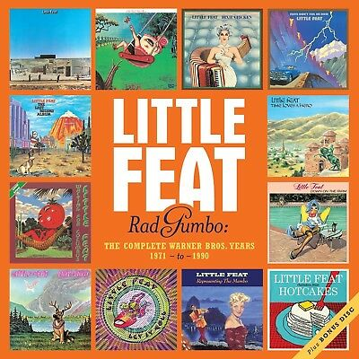 Little Feat - Complete Warner Bros.years 1971-1990 13 Cd New+