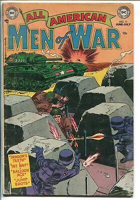 ALL AMERICAN MEN OF WAR #11 1954-DC COMICS-FROGMAN-PARATROOPER-vg