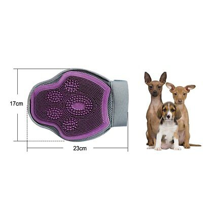 Pet Dog Cat Dual-Use Bath Glove Grooming Massage Brush Comb Dead Hair Fur Glove