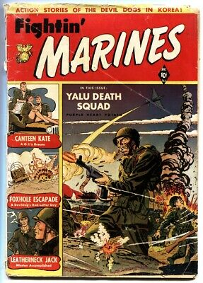 Fightin' Marines #2 1951-st John-1st Canteen Kate-matt baker fr