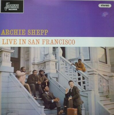 LP Archie Shepp: Live in San Francisco