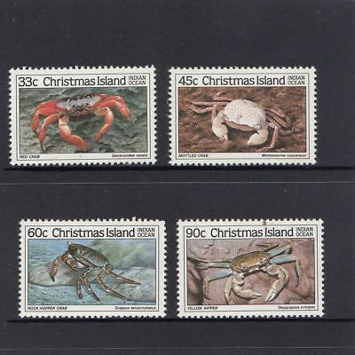 Christmas Island 1985 Crabs (3rd series)  MNH