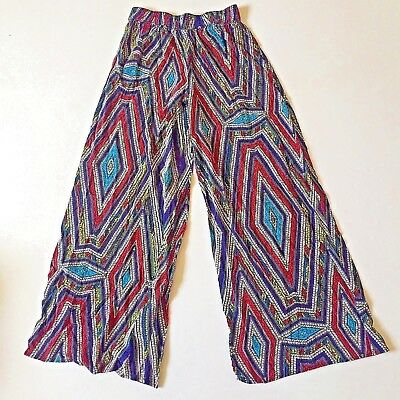 Mossimo Supply Co Womens Size S Multi Colored Lounge Pants Elastic Waist