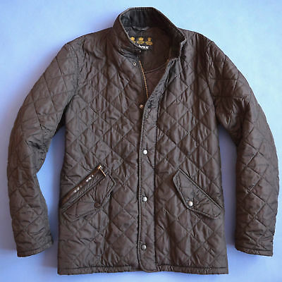 Barbour - Flyweight Chelsea Sports Quilted Jacket  - Size M  - Black - Excellent