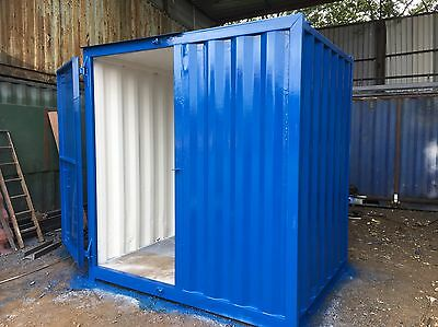 8X6 FT SECURE Storage Container With anti condensation paint Lock