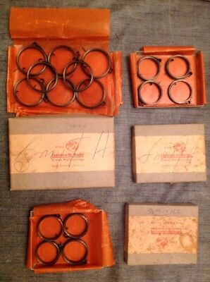 Clock Mainsprings 16 NOS Marked Smiths From Clockmakers Spare Parts Collection