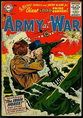 Our Army at War #51 1956- Kubert- Russ Heath- Infantino VG-