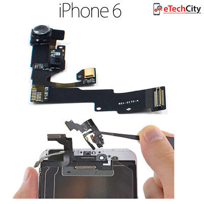 For iPhone 6 A1585 Genuine Front Camera Proximity Mic Sensor Flex Replacement