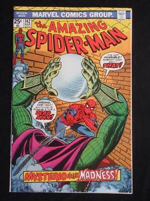 Amazing Spider-Man #142 MARVEL 1975 - NEAR MINT 9.0 NM - Mysterio app, Stan Lee!