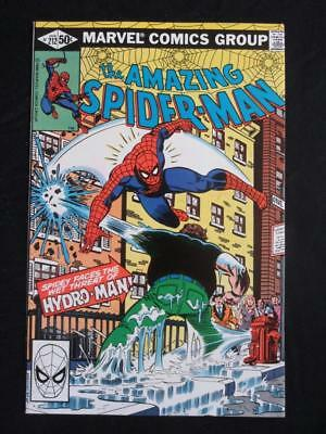 Amazing Spider-Man #212 MARVEL 1981 - NEAR MINT 9.8 NM -ORIGIN/1st app Hydro-Man