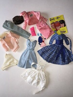 Vintage Barbie Doll Clothes LOT 1960's