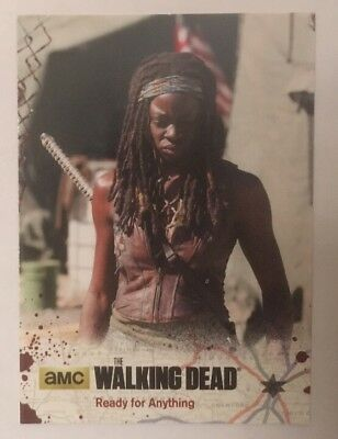 #7 Ready For Anything Card The Walking Dead Season 4 Part 2