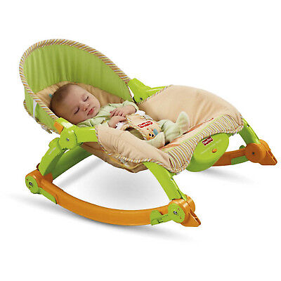 Fisher-Price Portable Rocker Newborn to Toddler Infant Seat Swing Sleeper New  sc 1 st  PicClick & FISHER-PRICE NEWBORN TO Toddler Portable Rocker Baby Gear Chair ...