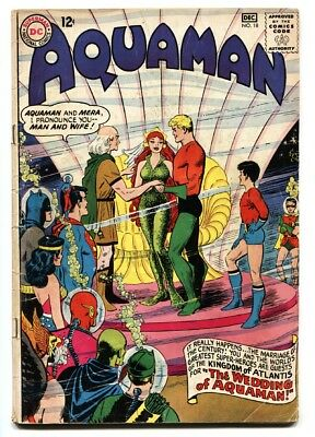 Aquaman #18 comic book 1964-mera Wedding Issue  Silver Age DC