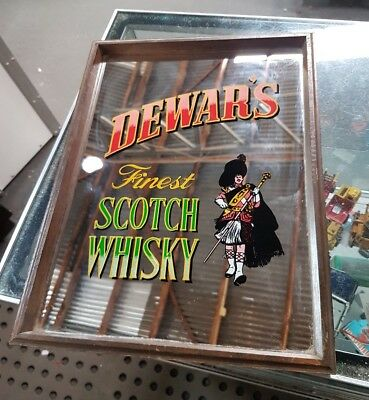 Vintage Dewar's  Finest Scotch Whisky Mirror
