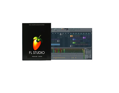 Fl Studio 12 Fruity Loops/producer -Music Software/retail License Windows 7/8/10