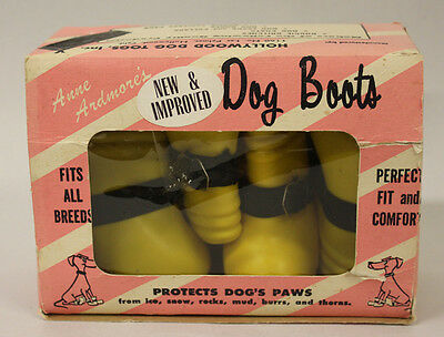 Anne Ardmore's Dog Boots with Box