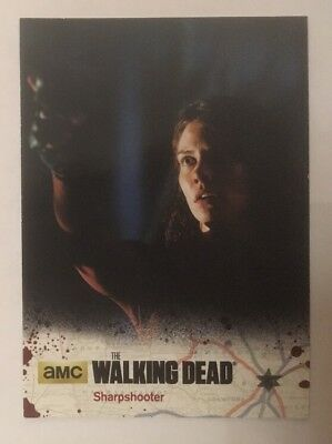 #25 Sharpshooter Card The Walking Dead Season 4 Part 2