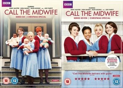 Call the Midwife Series 6 + 7 Season Six + Seven Region 4 DVD (6 Discs)