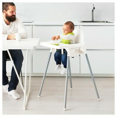 3a49601230b IKEA ANTILOP BABY Kids Child Highchair High Chair Plus Safety Belt   Tray  Table -  55.99