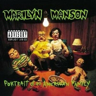 """Marilyn Manson """"Portrait Of An American Family"""" Cd New+"""
