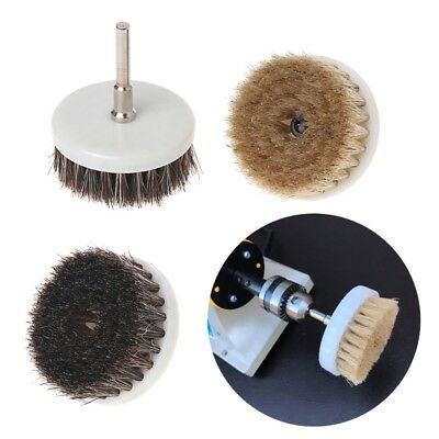 60mm Drill Powered Scrub Heavy Duty Cleaning Brush With Stiff Bristles Tools