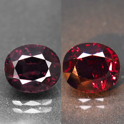 3.01ct.Amazing! 100%Natural Top Color Change Spinel Unheated 9x8mm.AA Nr!