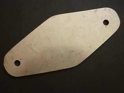 STAINLESS STEEL CHAIN PLATE MARINE GRADE 316 STAINLESS STEEL PLATE 3mm THICK