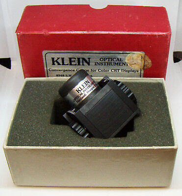 Convergeance Gauge for Color CRT Displays by Klein