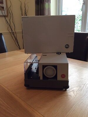 Leitz Pradovit-color Slide Projector With Additional Interchangable Lens