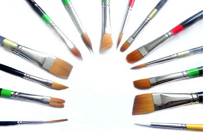 Loew Cornell Professional Brushes - Face Painting, Reborn, Art