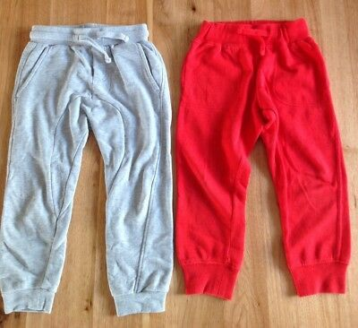 2 x Boys Cotton On And Pumpkin Patch Tracksuit Pants. Size 3. Ex Condition.