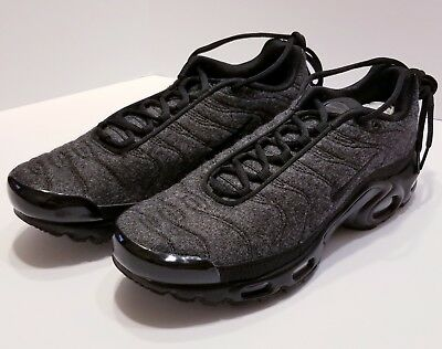 best sneakers 914a5 4f793 Nike Air Max Plus TN Tuned 1 Quilted Wool Grey Black Anthracite 806262 022  Sz 10