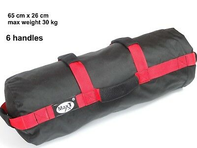 Power Sandbag Training Bag Gewichtssack Krafttraining Fitnessbag 0-30KG