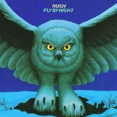 "Rush ""fly By Night"" Cd ----8 Tracks---- New+"