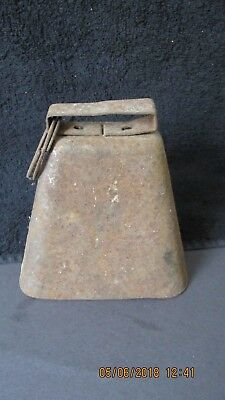 Large Metal Cow  Bell.   Estate Find, No Reserve