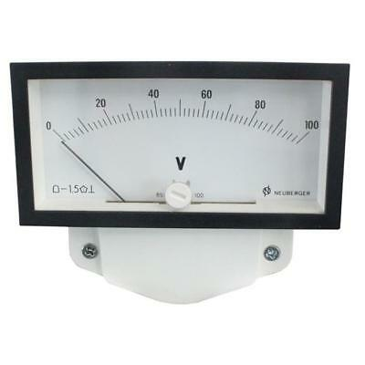 Analoges Messinstrument 0-100V Voltmeter ; Neuberger