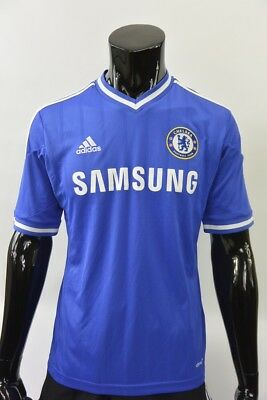 The Blues 2013-2014 adidas Chelsea FC Home Shirt Football Jersey SIZE M (adults)
