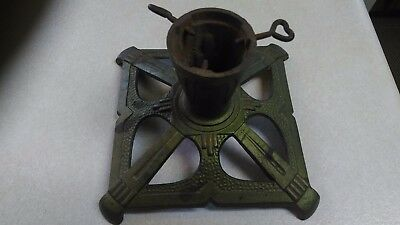 Vintage / antique Cast iron Christmas tree stand ornate