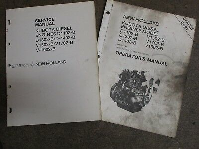 1 kubota diesel engine operators manual d 1102 b d1302 b d1402 b rh picclick com Kubota V2203 Engine kubota v1702 engine service manual