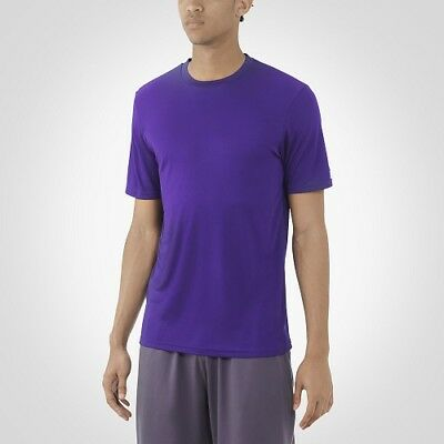 044aa8448 RUSSELL ATHLETIC MEN'S Dri-Power Core Performance Tee, Purple, XL ...