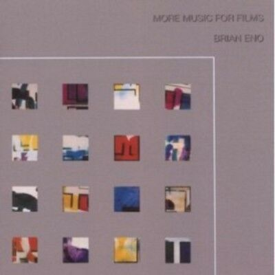 Brian Eno - More Music For Films  Cd 20 Tracks Electro/ambient/rock  New+