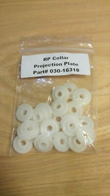 RP Collar Projection Plates (22 ct) --  Compatible With Riso - Part # 030-16318