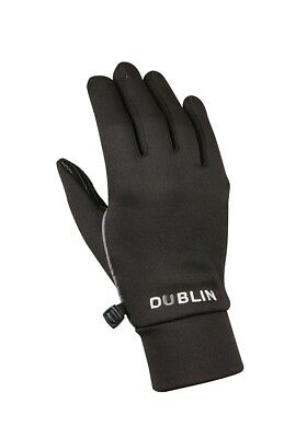 DUBLIN THERMAL RIDING GLOVES ADULTS in Black