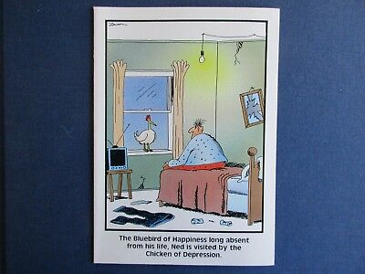 Vintage 1988 The Far Side Birthday Card Infamous Moments In Jazz