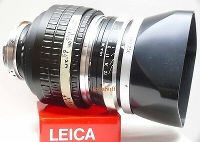 Zeiss Rollei Sl 66 Planar 80/2.8 Modified To Leica M Mount:m8:m9:m240:m3:m4:m6: